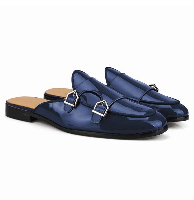 Men Pu Leather Shoes Casual Shoes Dress Shoes Brogue Shoes Spring Vintage Classic Male Casual   Summer Slippers Men F78