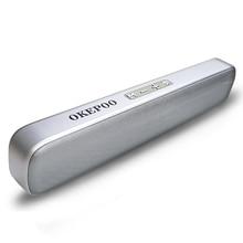 Bluetooth Speaker Soundbar Support Microphone TF Card FM AUX 2000mAh Battery HIFI Stereo Portable Wireless Bluetooth Speaker