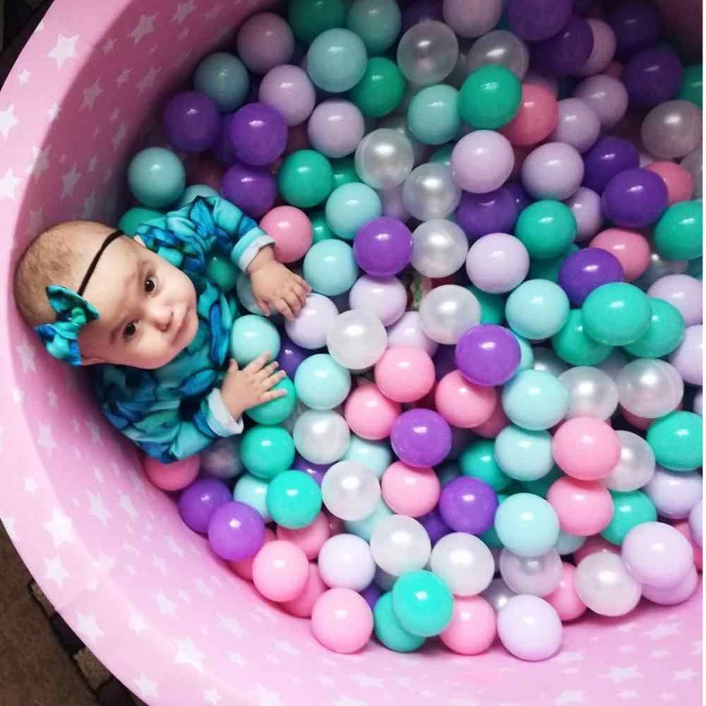 Baru Bayi Bola Laut Kolam Renang Pit Pagar Manege Bulat Bermain Kolam Renang untuk Bayi Bermain Bola Taman Bermain untuk Balita Yard Permainan anak Hadiah