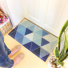 40x60cm Geometric Pattern Anti-slip Doormat Floor Mat Home Creative Super Soft Absorbent Bathroom Door Entrance