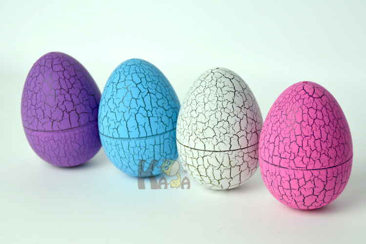 1145 Color Capsule Toy Large Size Tumbler Dinosaur Crack Egg Shell Candy Packaging Egg Excluded Electronic Pet