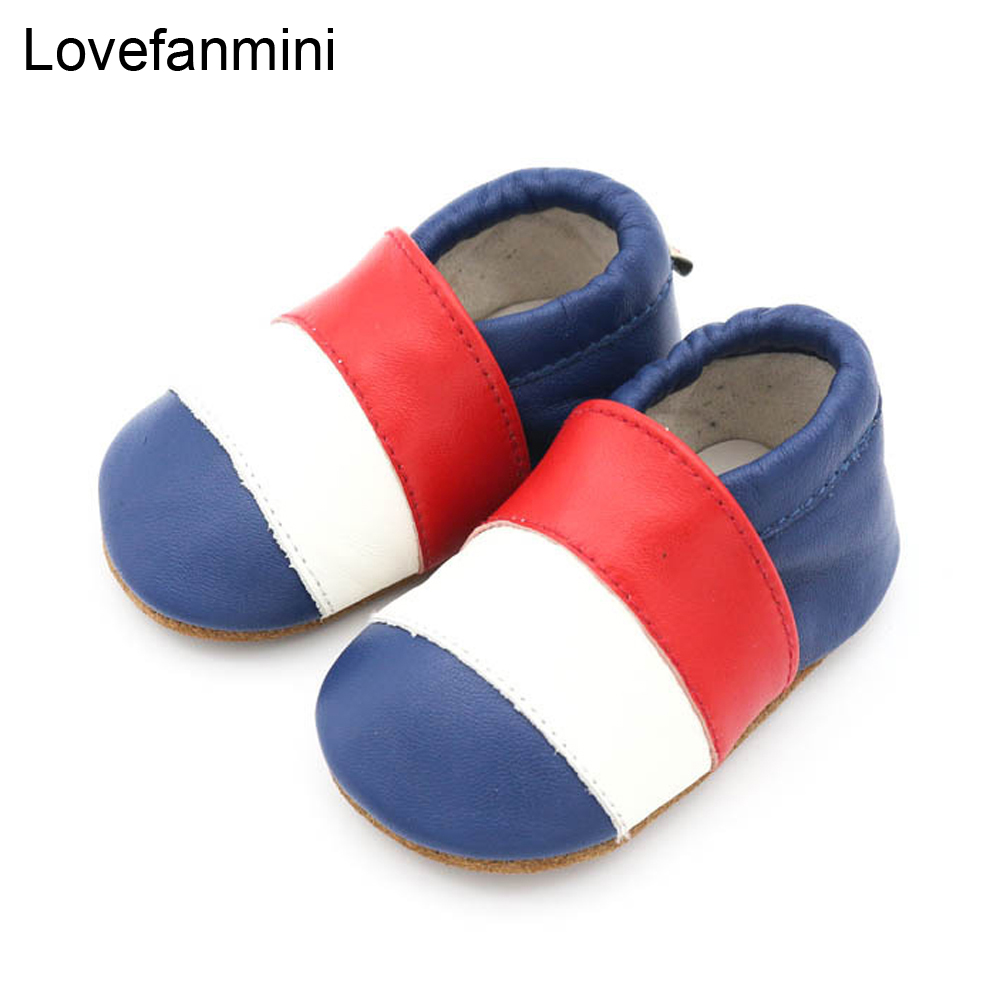 Baby Shoes Soft Genuine Sheepskin Leather Baby Boys Girls Infant Toddler Moccasins Shoes Slippers First Walkers Non-slip 111