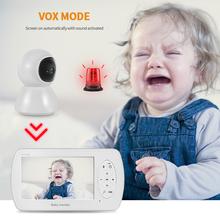 Kamera do monitorowania dzieci 4 3 Cal niemowląt Baby Night Vision bezprzewodowy wideo dla dzieci Monitor do spania z pilotem zdalnego Cam typu #8222 Pan-Tilt-Zoom tanie tanio INQMEGA wireless Wideo i Audio HD 1080 P CN (pochodzenie) color CMOS Stwardnienie Odbiornik Domofon IP Sieci APLIKACJI Telefonu komórkowego