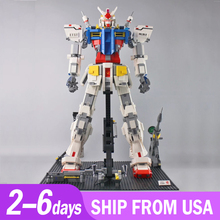 K80 Gundam Robot Mobile Suit Gundam Founder Model Set RX78-2 Static 1:60 MOC Model Building Block 3500pcs Bricks Toys Gift