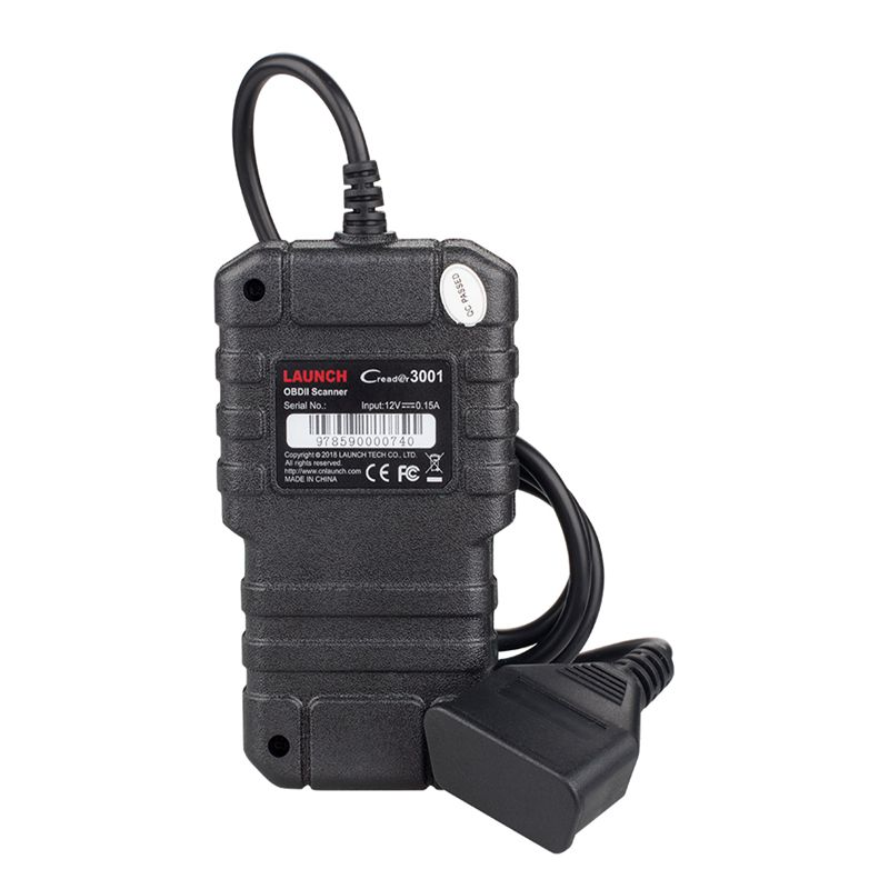 Hf2b979e410334b96894e22e0c450a509f LAUNCH X431 CR3001 OBD2 Scanner Support Full OBD II/EOBD Launch Creader 3001 Auto Scanner diagnostic PK CR319 ELM327 V1.5 v2.1