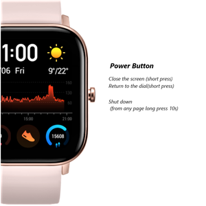 Image 4 - Amazfit GTS Smart Watch 5ATM Water Resistantce and Professional Swim Tracking Sport Watch All day heart rate 14days Battery life