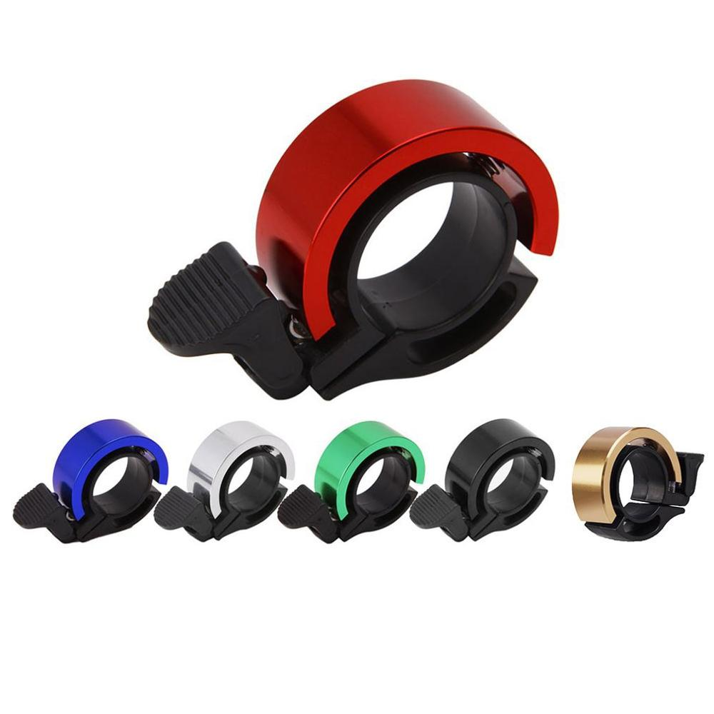 New Q-Type Aluminum Alloy Bicycle Bell For Mtb Cycling Alloy 90Db Horn Bike Bell Cycling Handlebar Alarm Ring