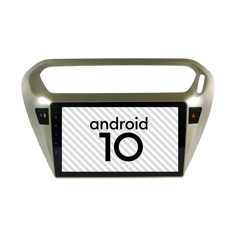 Brand New Car Android 10.0 <font><b>gps</b></font> <font><b>for</b></font> <font><b>peugeot</b></font> <font><b>301</b></font> Citroen Elysee Multimedia Bluetooth Internet 2.5D explosion-proof screen Radio image