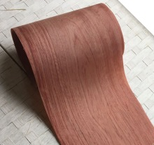 2PCS/LOT 2.5Meter/pcs Width:22cm Thickness:0.25mm Solid Wood Rosewood Veneer Furniture Edge Banding