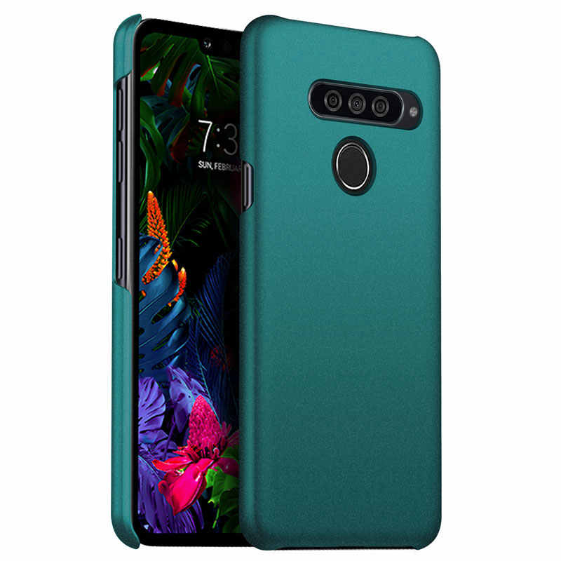 Voor Lg G8 Thinq Case Luxe Matte Hard Pc Cover Case Voor Lg G8S Thinq Q60 K50 Stylo 5 Schockproof beschermende Telefoon Cover Shell