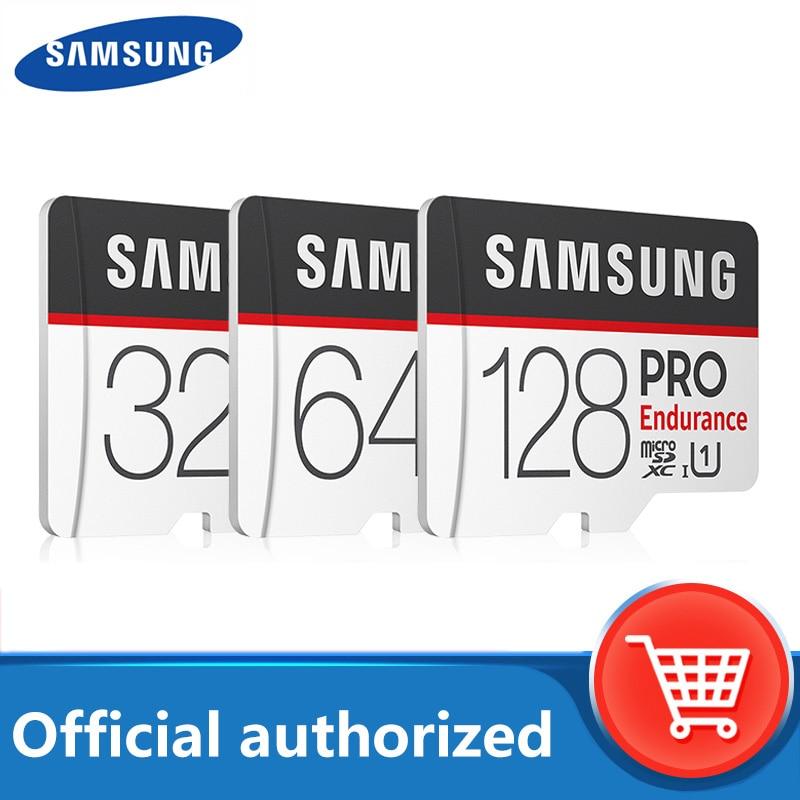 100% Original SAMSUNG TF tarjeta MicroSD PRO resistencia 256G 100 MB/s 128GB SDXC SDHC 32GB C10 TF tarjeta UHS-I Flash de 64GB tarjeta de memoria