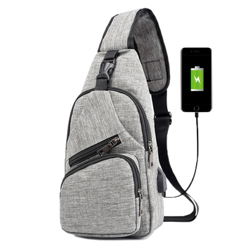 KUBUG Anti-Theft Chest Pack Men Fashion Shoulder Bag USB Charging Travel Crossbody Bag Ourdoor Running Hiking Lady Waist Bag kubug outdoor sports shoulder bag hiking running climbing bag casual travel waist bag waterproof chest handbag
