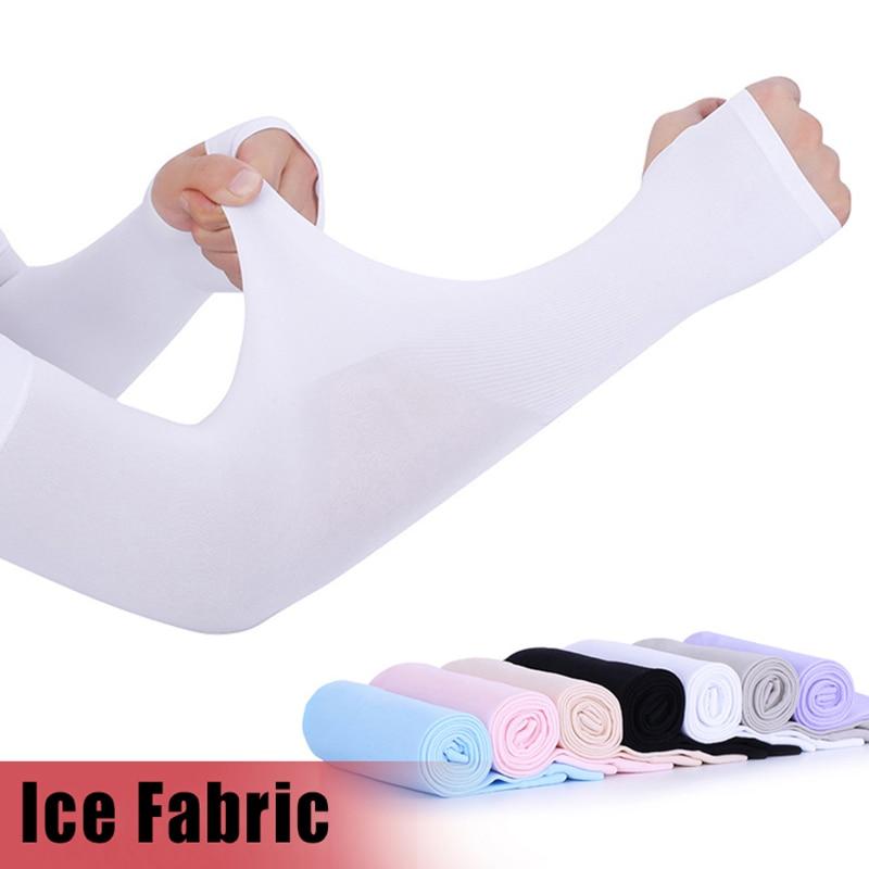 Sports Outddoor Arm Sleeve Sun UV Protection Hand Cover Cooling Warmer Running Fishing Cycling Ski Mangas Para Brazo