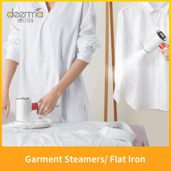 Deerma HS200 2 In 1 Garment Steamers/ Flat Iron 1000W Portable Steam Ironing Machine 110ml Water Tank 1000W For Travel Home