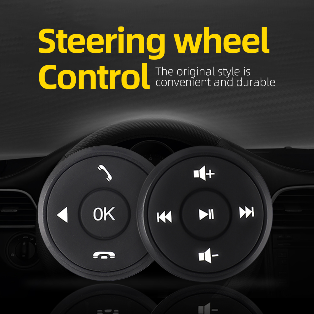 Universal Car Steering Wheel remote Control android Window Bluetooth Button Universal wireless steering wheel control