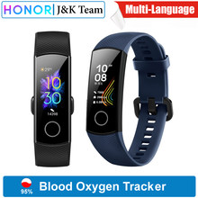 Huawei Honor band 5 bracelet intelligent Version mondiale sang oxygène smartwatch AMOLED Huawei bande intelligente coeur rage ftness sommeil tracker(China)