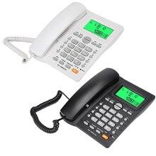 Vaste Telefoon Desktop Snoer Vaste Telefoon Met Caller Id Display Wired Telefoons Met Re Dial Pauze Functie Voor Thuis kantoor Hotel