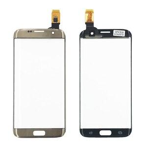 Image 4 - オリジナル携帯電話のタッチパネルデジタイザセンサータッチスクリーン外側ガラスの交換サムスンS7edge S8 + Note8画面