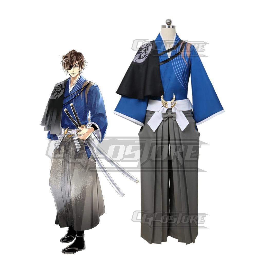 Cosplay Costume Anime Ikemen Sengoku Date Masamune Dresses Christmas Halloween Free Shipping CG474
