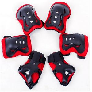 6pcs/set Kids Children Skating Pad Professional Protective Gear Set Adjustable Outdoor Sport Protection Knee Pad Elbow Pad Wrist