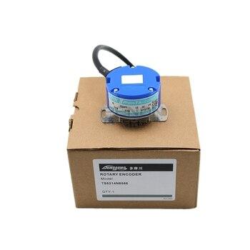 цена на New original incremental servo motor encoder TS5214N8592 5V 9mm hole push pull output