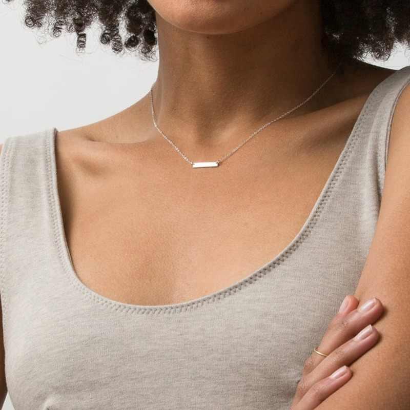 Mcllroy Vrouwen Choker Mode-sieraden Roestvrij Staal Gegraveerd Ketting Hanger Ketting Ketting Kettingen Drop Verzending Groothandel
