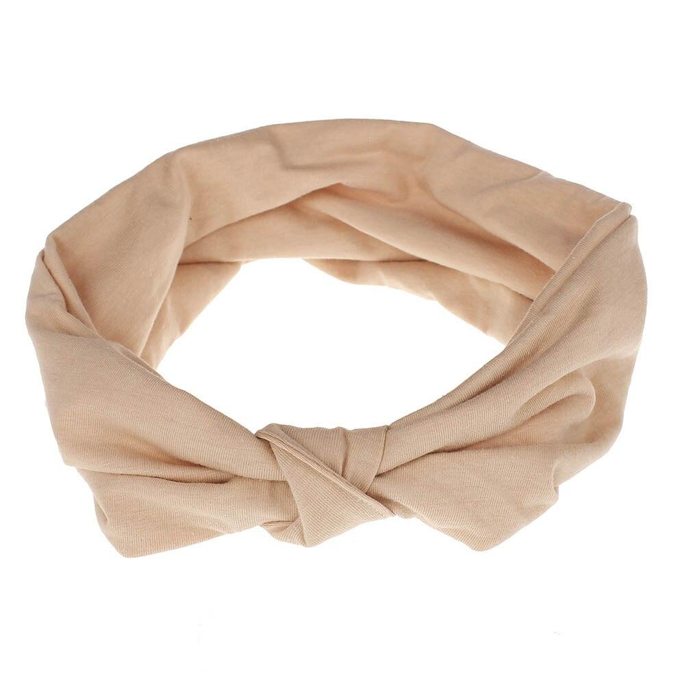 tecido de algodão cabeça bandas turbante laço
