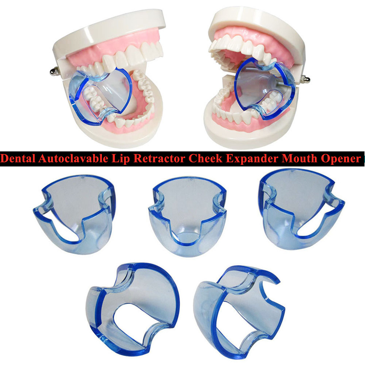 25 pcs/lot Dental Lip Retractor Cheek Expander Mouth Opener Posterior Anterior Teeth Whitening Intraoral Oral Care Autoclavable