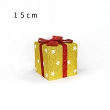 Christmas Decoration Gift Box Supplies Shop Super Scene Decoration Snowflake Gif