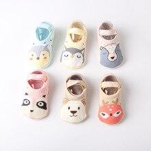 Baby Socks Newborn Winter Non-Slip Dispensing Terry 0-4-Years-Old Autumn Hot Cotton Cartoon