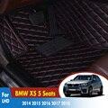 Автомобильные коврики для BMW X5 5 мест 2014 2015 2016 2017 2018 Пользовательские Коврики Авто интерьерные коврики аксессуары Автомобильные Ковры