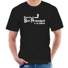 2019 Fashion Hot sale 'Probably the Best Accountant in the World' Funny Birthday Gift Idea T-shirt Tee shirt @103822