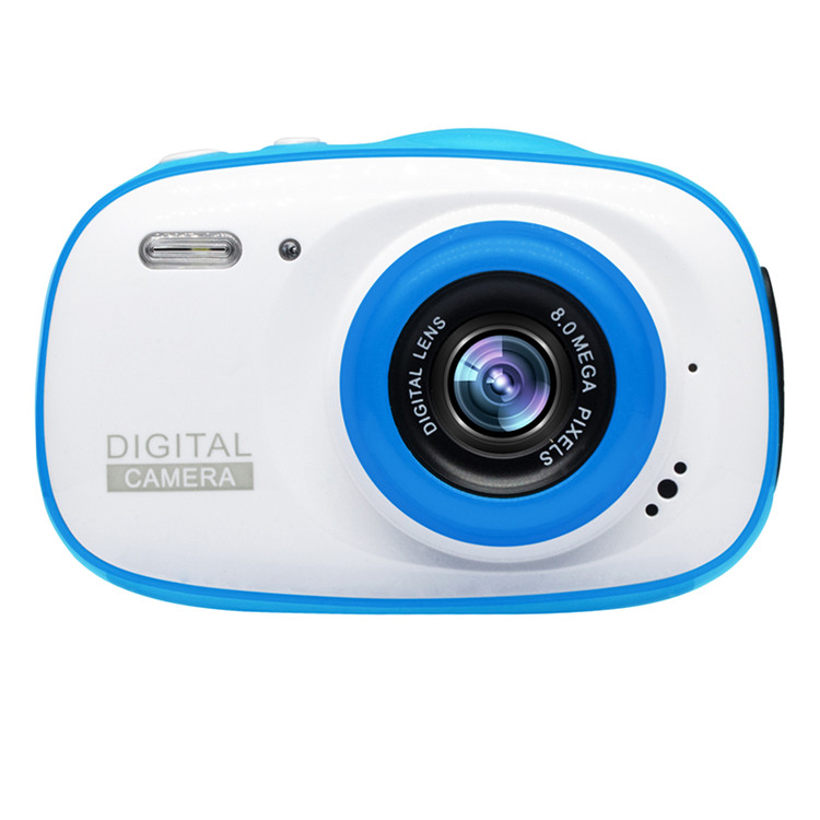 Mini cámara para niños, juguetes educativos para niños, regalos para bebé, regalo de cumpleaños, resistente al agua IP68 con cámara de vídeo de 1080P - 6