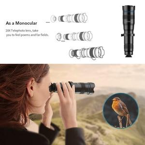 Image 3 - APEXEL 옵션 HD 36X 금속 망원경 망원 렌즈 monocular 모바일 렌즈 + selfie 삼각대 삼성 화웨이 모든 스마트 폰