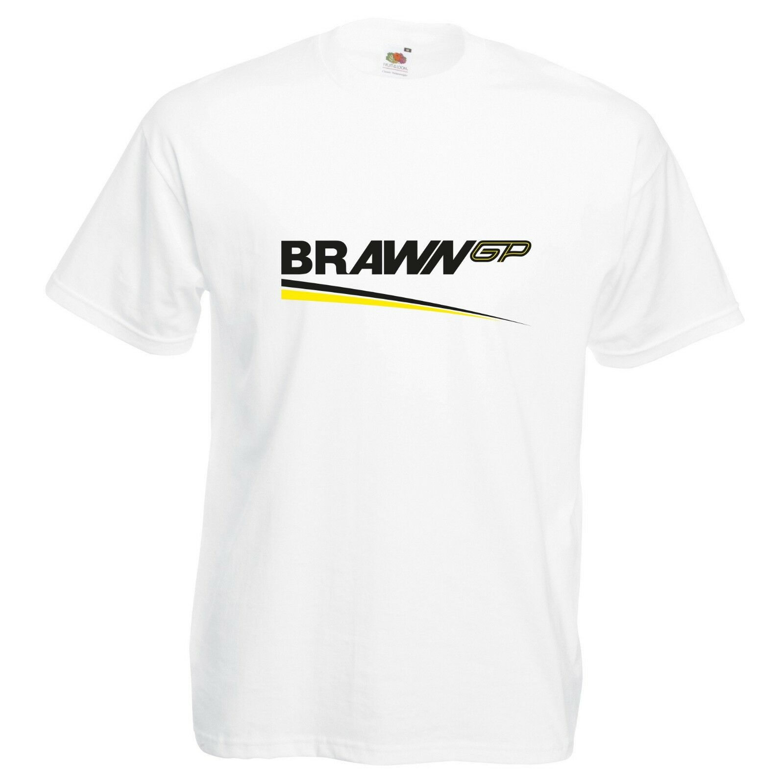 Brawn GP T-Shirt VARIOUS SIZES & COLOURS Car  Track Day  Racing