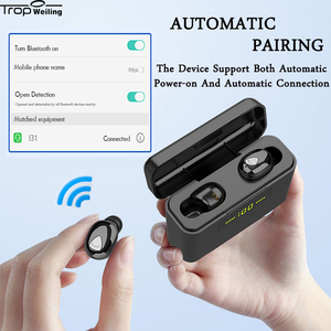Image 3 - 真ワイヤレスイヤフォン tws led disply bluetooth イヤホン 5.0 bluetooth ワイヤレスヘッドフォンスポーツヘッドセット