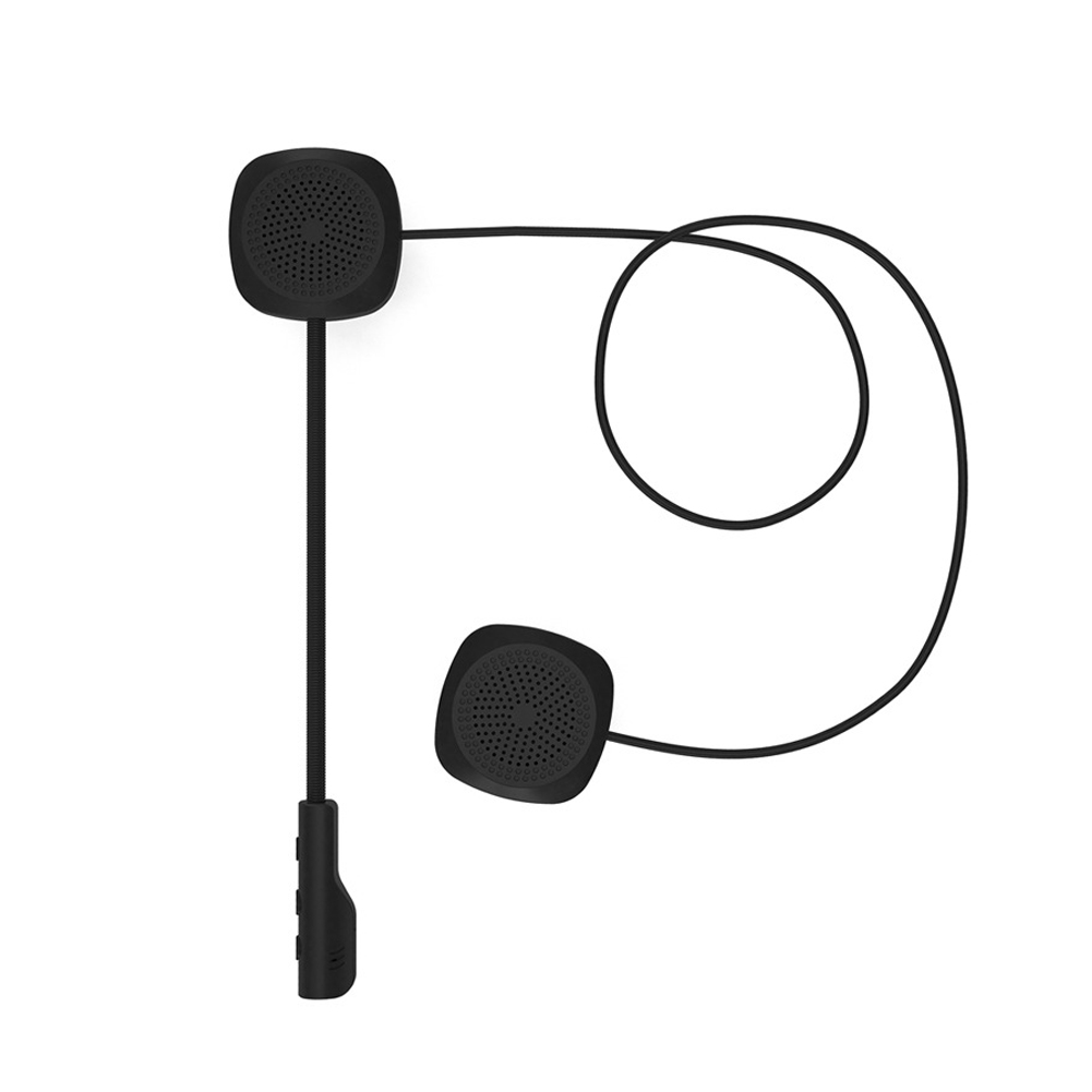 For Motorcycle Helmet Wireless Long Standby Speakers Bluetooth With Microphone Riding Easy Operate Hands Free Headphone