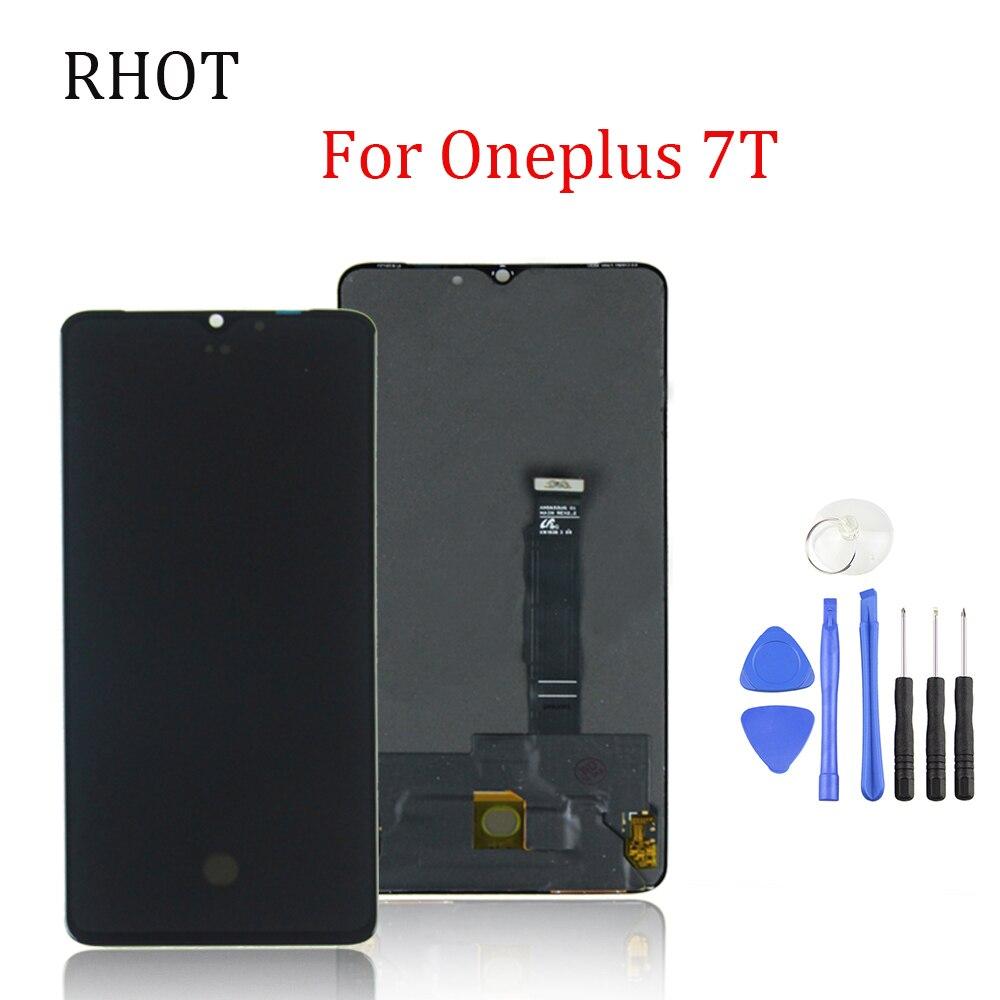 Оригинальный 6.55 дюймовый Super AMOLED ЖК-дисплей для 1 7Т запасные части для 7Т развод транскодер дисплей сенсорный экран ассамблеи