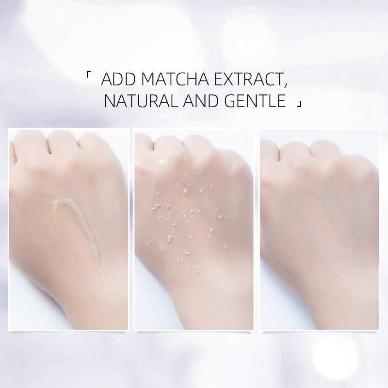 Matcha Peeling Gel Feuchtigkeits Peeling Schrumpfen Poren Erweichen Haut Gesichts Peeling 60g