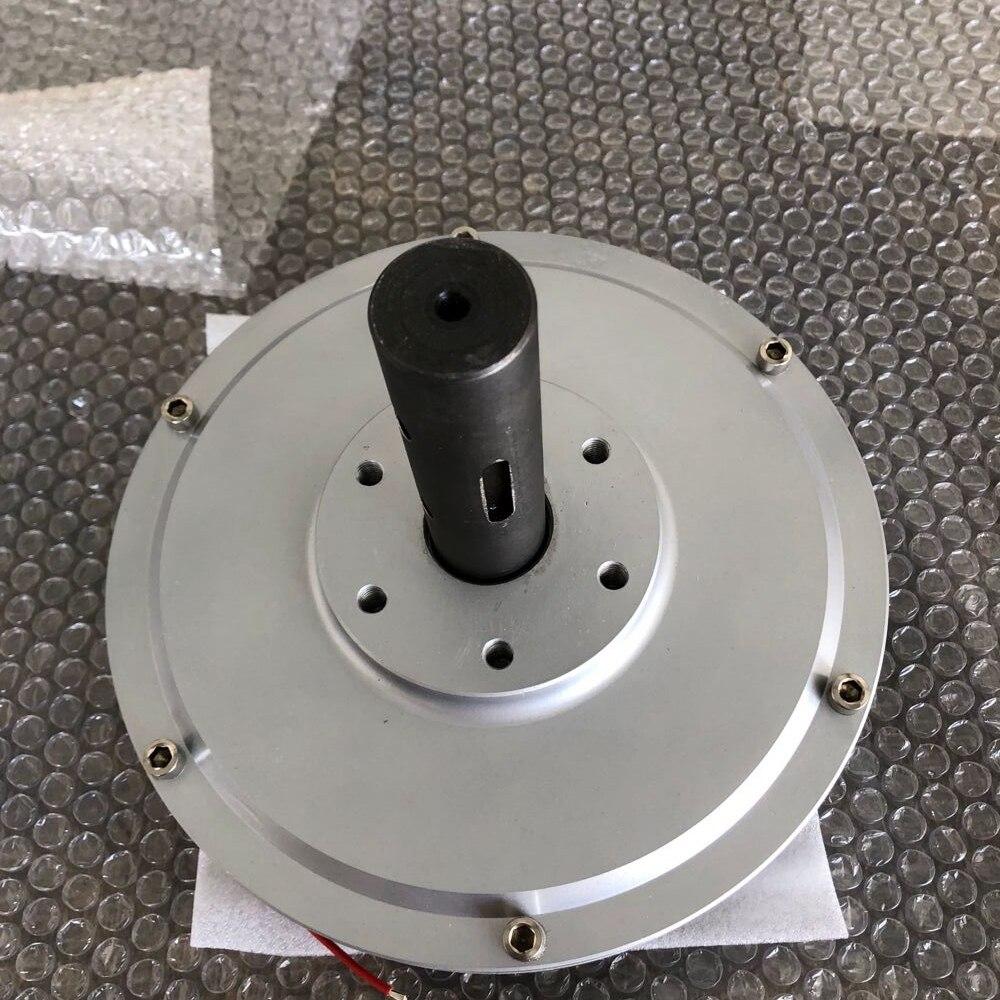 CE 100W 300RPM 12V AC Disc PMG Inner Rotor Three Phases Coreless Permanent Magnet Generator Alternator