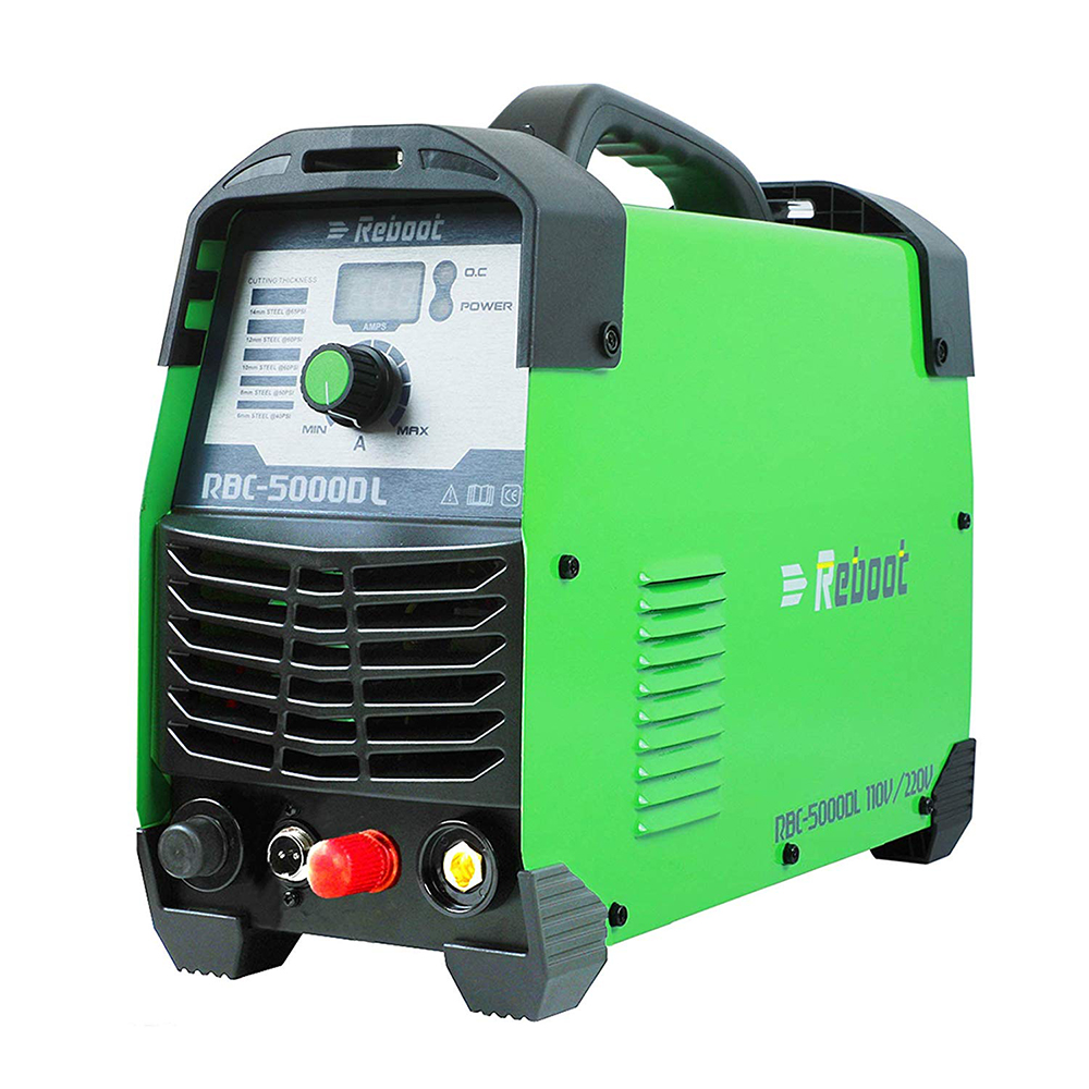Plasma Cutter CUT 50Amp Pilot Arc Non Touch 110/220V IGBT Air Plasma Cutting Machine Dual Volt HF Cutter Inverter 1/2