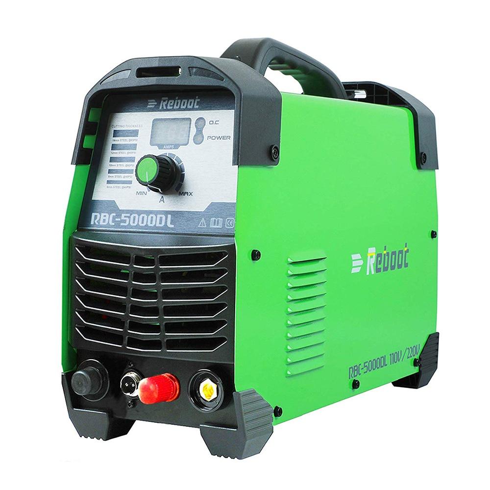 Plasma Cutter CUT 50Amp Pilot Arc Non Touch 110/220V IGBT Air Plasma Cutting Machine Dual Volt HF Cutter Inverter 1/2