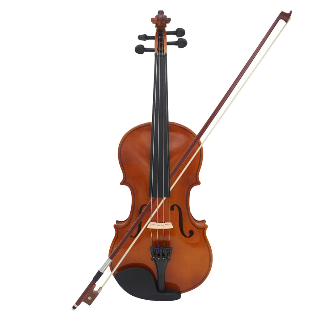 4/4 Full Size Violin Fiddle W/ Case Bow Rosin For Beginners Musical Toy Gift