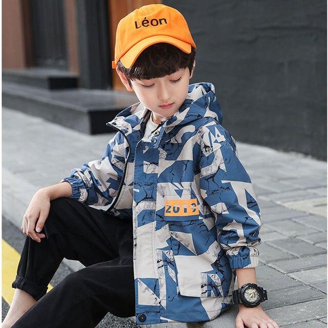 Teens Jungen Mädchen Hoodie Herbst Windjacke Oberbekleidung Kinder Disguise Armee Camouflage Baseball Jacke Trainingsanzug 10 12 14 Jahre