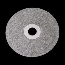 "4"" 100mm 80-2000# Diamond Coated Flat Lap Wheel Lapidary Polishing Grinding Disc"