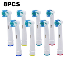8pcs Replacement Brush Heads For Oral-B Electric Toothbrush for Braun Professional Care/Professional Care SmartSeries/TriZone