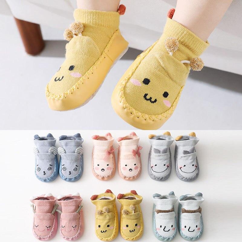 Baby Socks With Rubber Soles Infant Sock Newborn Spring Summer Children Floor Socks Shoes Anti Slip Soft Sole Sock