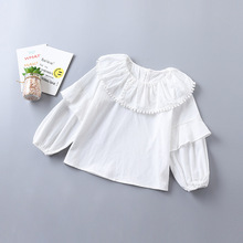 Kids Baby Girls Blouse Ruffle Clothing