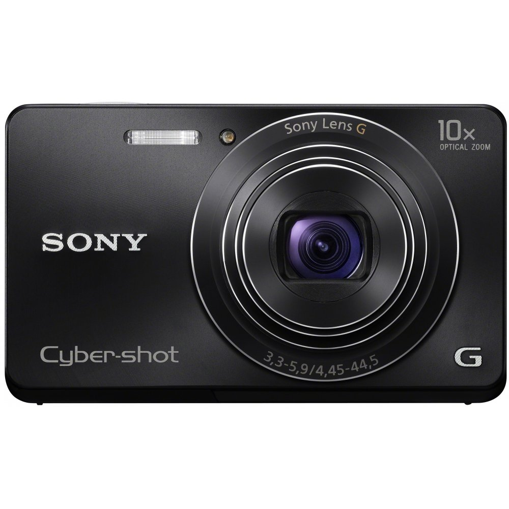 Used,<font><b>Sony</b></font> Cyber-shot DSC-W690 16.1 MP Digital Camera with 10x Optical Zoom and <font><b>3</b></font>.0-inch LCD image