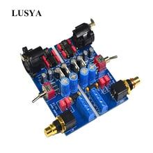 Lusya Dual channel DRV134 ongebalanceerd naar balance board gebruik voor Gebalanceerde ingang eindversterker board F6 003